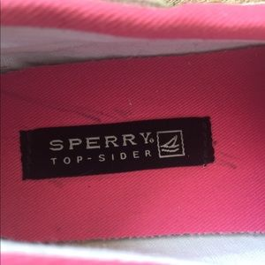 Sperry Shoes - Girls Sperry Top Siders Size 5.